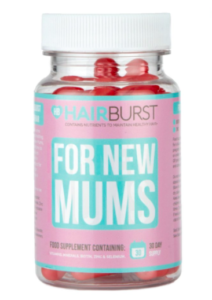 Hairburst for new Mums pregnancy breastfeeding vitamin postpartum hair loss